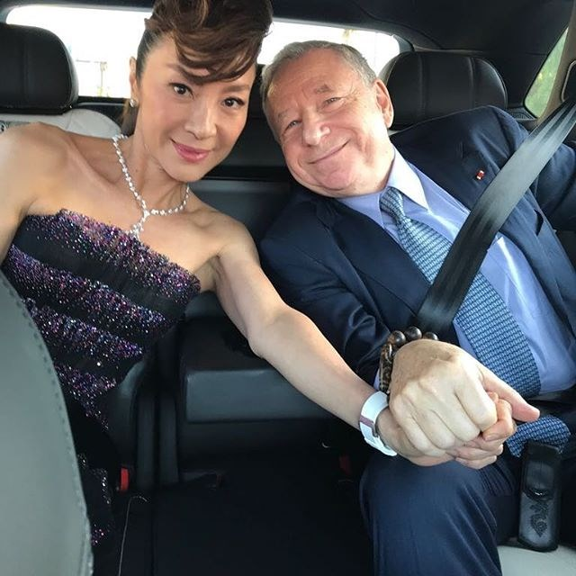 """**Michelle Yeoh (Eleanor Young) ** <br><br> Michelle Yeoh met French motor sport executive, Jean Todt, at a Ferrari promotional event in Shaghai and have been engaged since 2004.  <br><br> Image: [@michelle.yeoh](https://www.instagram.com/michelle.yeoh/?hl=en