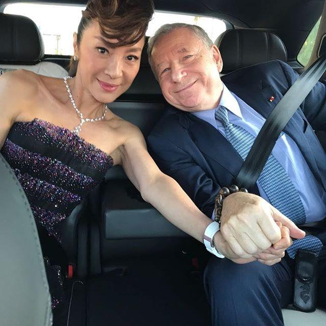"**Michelle Yeoh (Eleanor Young) ** <br><br> Michelle Yeoh met French motor sport executive, Jean Todt, at a Ferrari promotional event in Shaghai and have been engaged since 2004.  <br><br> Image: [@michelle.yeoh](https://www.instagram.com/michelle.yeoh/?hl=en|target=""_blank""