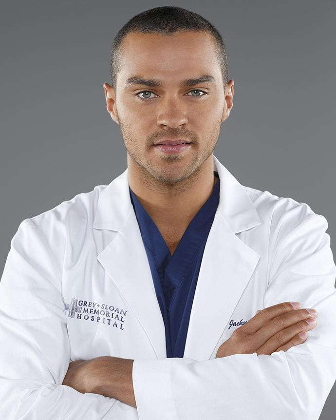 **Jesse Williams—Jackson Avery **