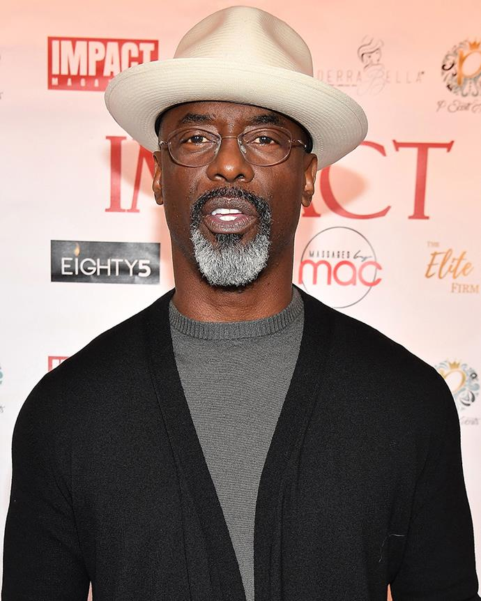 **Isaiah Washington—Preston Burke **