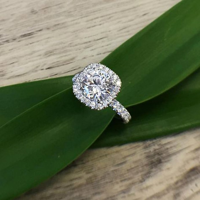 "**Aries: Cushion** <br><br>  If there's ever a time to treat yourself to the 'best of the best', this is it Aries. And there's nothing wrong with adhering to the 'size matters' mantra. Your perfect engagement ring? A generous diamond, set in a luxe cushion cut style. <br><br> Image: [Pinterest](https://www.pinterest.com.au/pin/559009372489410568|target=""_blank""