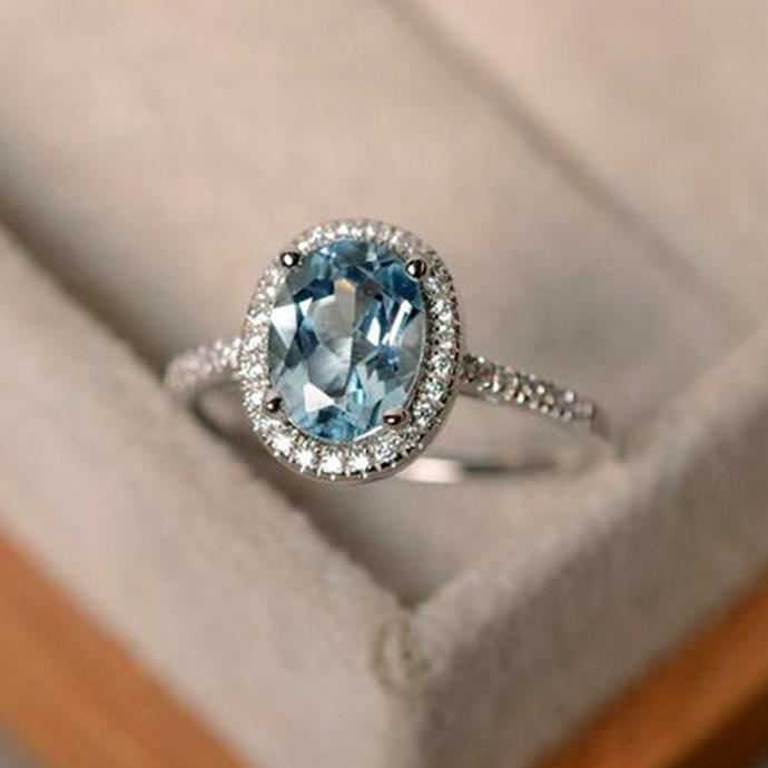 """**Virgo: Pavé ** <br><br> You're the definition of 'romantic at heart', but you're also very logical, Virgo. That's why a ring which perfectly balances prettiness with practicality (i.e. no sharp edges or things that will catch on your clothing), like the pavé, is perfect for you. <br><br> Image: [Pinterest](https://www.pinterest.com.au/pin/796292777840332610 target=""""_blank"""" rel=""""nofollow"""")"""