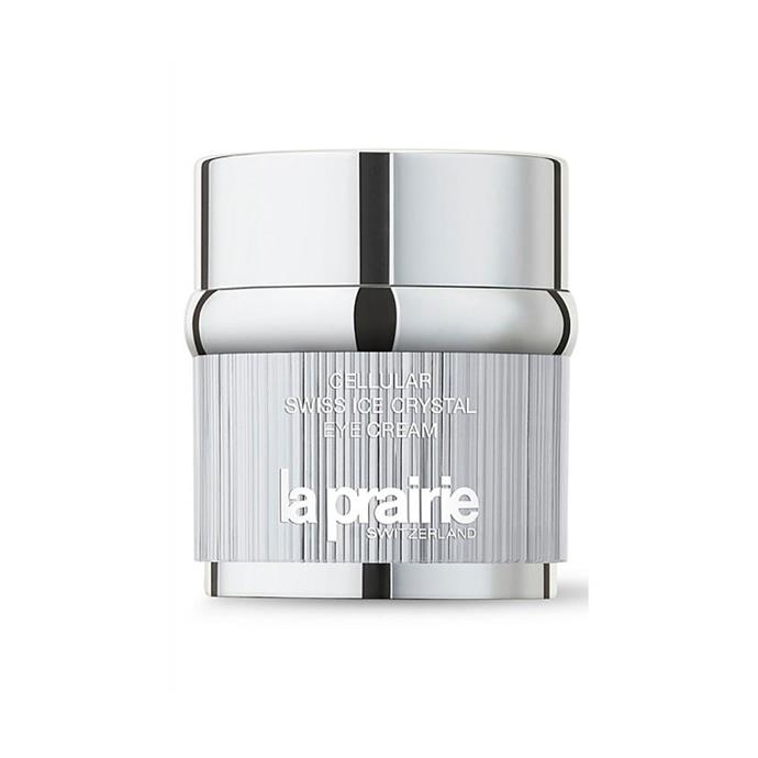 "**EYE CREAM:** <br><br> La Prairie Cellular Swiss Ice Crystal Eye Cream, $325 at [David Jones](https://www.davidjones.com/cellular-swiss-ice-crystal-eye-cream-20ml-20026021|target=""_blank""