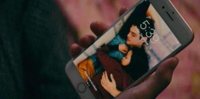 """**Lara Jean's lock screen with Peter wasn't staged for the movie.** <br><br> Johnson reveals the adorable picture on Lara Jean's lock screen was actually taken by the crew when Lana and Noah were caught sleeping next to each other on set.  """"The two of them were in the green room on set at the high school location, in the area where we put the actors,"""" Johnson said to [*ET*](https://www.etonline.com/to-all-the-boys-ive-loved-before-director-reveals-the-cute-story-behind-the-lock-screen-pic-108453