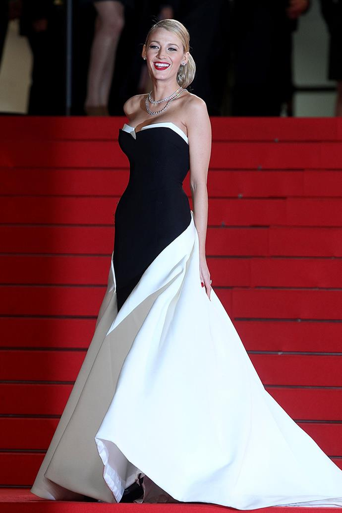 Once again channelling royalty in a Gucci gown at Cannes, and executing it flawlessly.