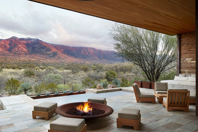 "**Tucson, Arizona USA: Miraval Resorts** <br><br> Kourtney Kardashian and ex-boyfriend, Scott Disick, visited Arizona's [Miraval Resort](https://www.miravalresorts.com/|target=""_blank""
