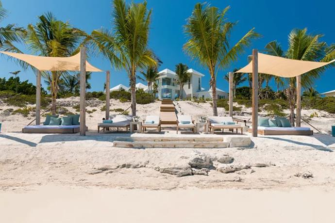 "**Turks and Caicos: $50 Million Airbnb Mansion** <br><br> To celebrate her 19th Birthday, the youngest Jenner rented out this $50 Million (USD) [Airbnb Mansion](https://www.travelandleisure.com/travel-tips/celebrity-travel/kylie-jenner-airbnb-turks-and-caicos|target=""_blank""