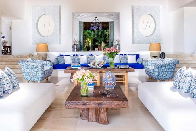"**Punta Mita, Mexico: Casa Aramara** <br><br> With nightly rates ranging from $13,000 to $35,000USD, [the estate features](https://www.architecturaldigest.com/gallery/kourtney-kardashian-celebrated-her-birthday-at-this-dollar17000-a-night-mexican-estate|target=""_blank""