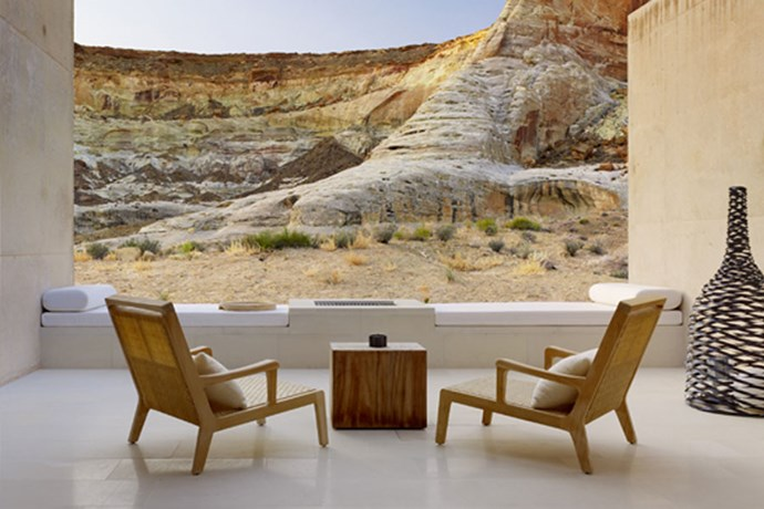 "**Utah, Colorado USA: Amangiri** <br><br> While they haven't escaped to the secluded Colorado resort as a family just yet, many members of the Kardashian Jenner family have spent time at [Amangiri Resort](https://www.aman.com/resorts/amangiri |target=""_blank""