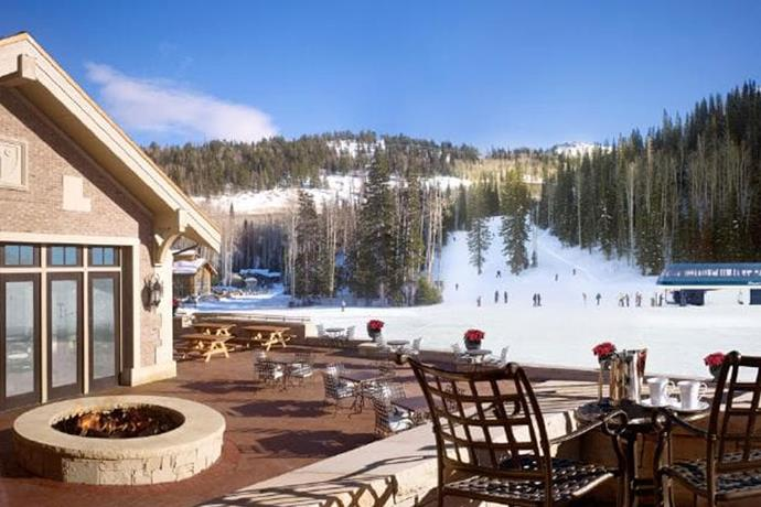 **Utah, Colorado USA: Montage Hotel Deer Valley** <br><br> Cosying up in the hotel's four-bedroom residence, which costs a huge $8,000USD a night, the 3,300-square-metre luxury property features large private balconies, an indoor mosaic pool and multiple hot tubs.