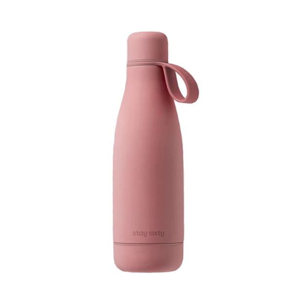 "**Stay Sixty Blush edition water bottle, $54 at [Stay Sixty](https://staysixty.com/products/original-bottle-blush|target=""_blank""