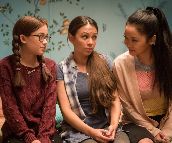 ***The reason Kitty sends the letters***<br><br> In the film, Lara Jean's little sister Kitty actually has a very sweet reason for sending out her sister's love letters. Worrying over her big sister and thinking she's giving her a chance with her crushes (which works three out of five, so not bad, TBH), Kitty sends them out as a nice (if invasive) gesture.<br><BR> However, in the books it's a little more spiteful (and more in line with actual Sister Behaviour (Editor note: Can *my* sister please set me up with Noah Centineo as petty retribution? Thanks)). After LJ teases her about her 'crush' on Josh, Kitty sends them out to get her back. Way harsh, Tai.