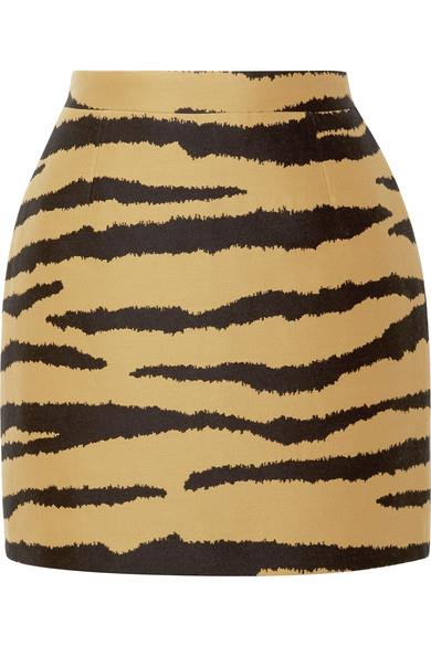 "Skirt by Proenza Schouler, $1,068 at [Net-a-Porter](https://www.net-a-porter.com/au/en/product/1068531/Proenza_Schouler/tiger-print-wool-and-silk-blend-jacquard-mini-skirt|target=""_blank""