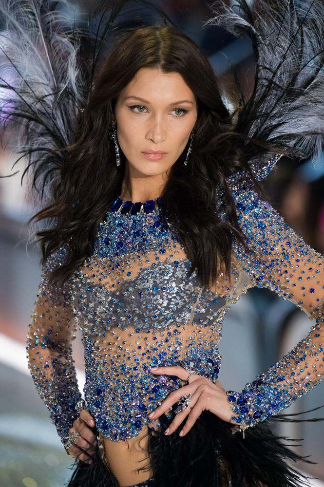 ***Bella Hadid***<br><br> Although she isn't an Angel, Bella is a high-profile model who loves the show, it's likely (but still unconfirmed) that she'll make her third appearance this year.