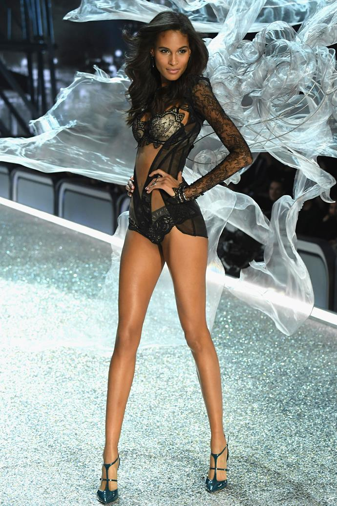 "***Cindy Bruna*** <br><br> Having walked in the Victoria's Secret Fashion Show since 2013, the French model was tapped once again for the 2018 show. ""2013, 2014, 2015, 2016, 2017 and now 2018 !"" she wrote on [Instagram](https://www.instagram.com/p/BncYWOKAQeW/?taken-by=cindybruna