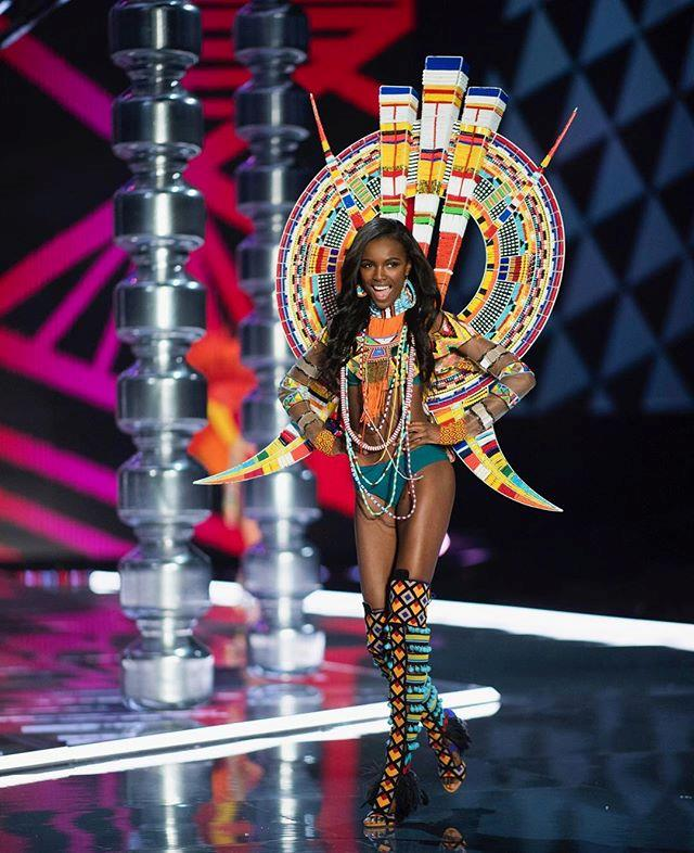 "**Leomie Anderson** <br><br> Celebrating her fourth VS fashion show booking, Anderson will join a tonne of other runway regulars at this year's show. ""The face you make when you find out you've bagged @victoriassecret show for the fourth time in a row!"" <br><br> [@leomieanderson](https://www.instagram.com/leomieanderson/