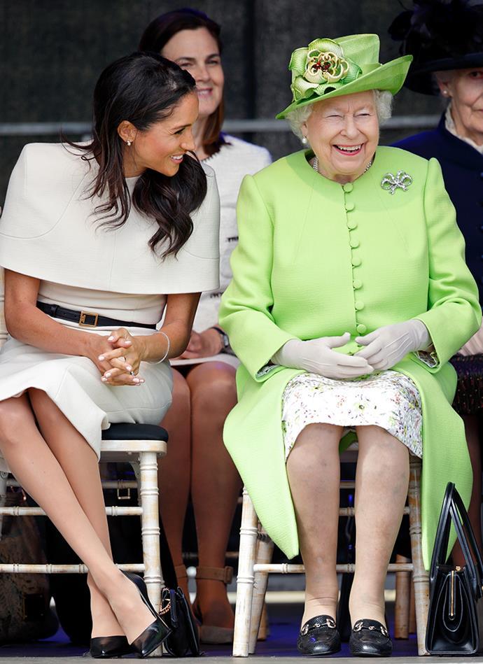 The Fascinating Reason Queen Elizabeth Always Wears A