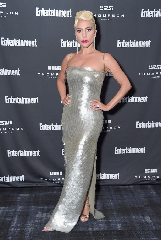 Lady Gaga in Armani Prive.