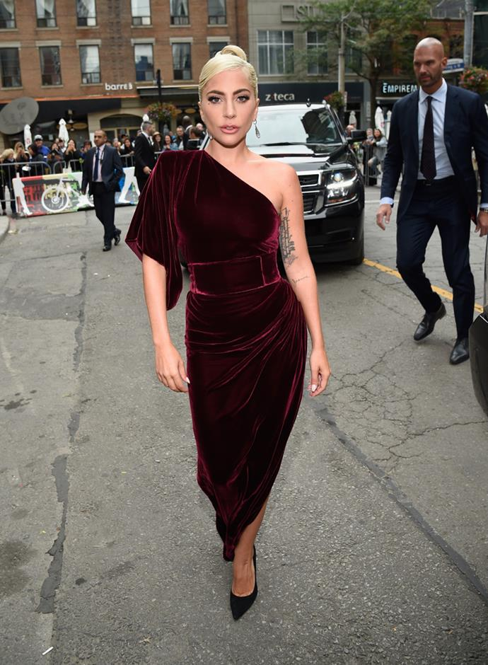 Lady Gaga in Ralph & Russo.