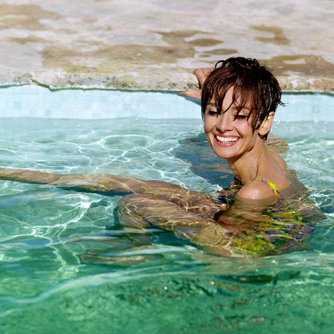 ***Audrey Hepburn*** <br><br> In an interview with *Yahoo! Health*, Audrey's son Luca Dotti revealed how his mother was passionate about eating and living well.  <br><br> Hepburn was all about drinking water, and lots of it, which Luca believes was a product of her upbringing. She wasn't a big meat-eater, with vegetables making up roughly 80% of her diet. She also made sure to purchase fresh, seasonal produce from their local market in Switzerland. Once a month, Hepburn detoxed for a day, eating only fruit, vegetables, yoghurt and drinking plenty of water—a detox that also worked as a jet-lag cure.
