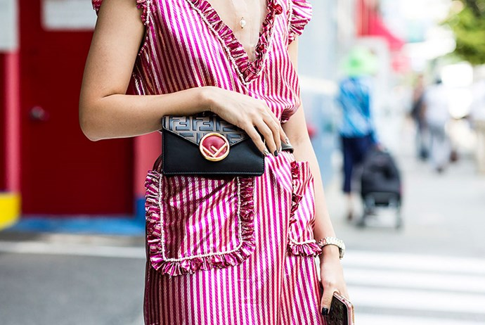 """**Consider The Belt Bag** <br><br> It was the accessory on every tastemaker's hip throughout New York Fashion Week, and now we're beginning to appreciate the [belt bag](https://www.elle.com.au/fashion/belt-bags-2018-16062