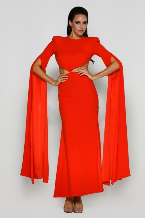 "Tenille wore the 'Tangerine' gown by Alex Perry, hire for $250 via [My Dress Affair](https://www.mydressaffair.com.au/other-info-dresses/floor-length/alex-perry-tangerine|target=""_blank""