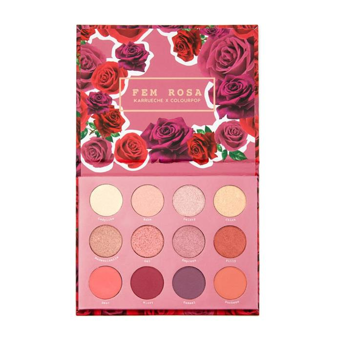 "Colourpop 'SHE' Pressed Powder Shadow Palette, $23 at [Colourpop](https://colourpop.com/products/she|target=""_blank""