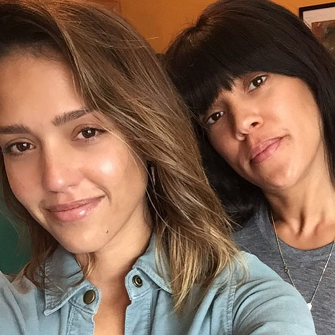 **Jessica Alba without makeup**
