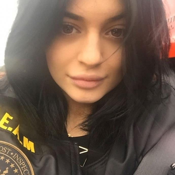 **Kylie Jenner without makeup**