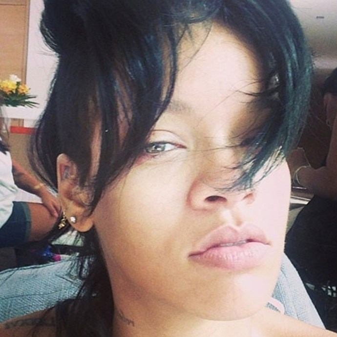 **Rihanna without makeup**