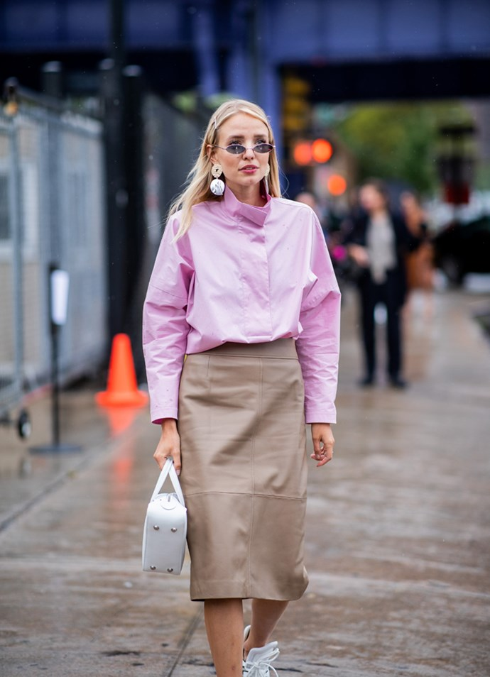 ***Tiny sunglasses***<br><br> Thought the tiny sunglass trend was over, did you? Not only are tiny sunglasses here to stay (or so says a legion of editors and influencers), they're actually getting tinier. Sun protection not guaranteed.