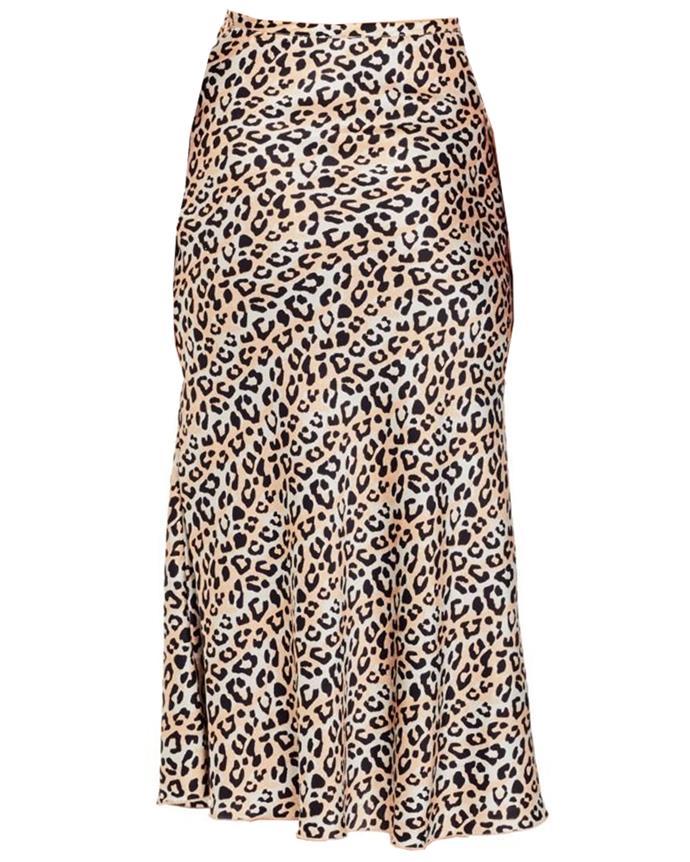 "Skirt by Chosen, $289 at [Tuchuzy](https://www.tuchuzy.com/ellie-midi-skirt-leo-leopard-chosen-by-tuchuzy-cho-18sk01991l|target=""_blank""|rel=""nofollow"")"