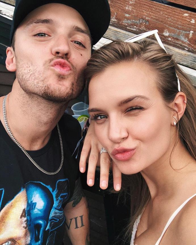 ***Alexander DeLeon***, boyfriend of Josephine Skriver <br><br> Musician Alexander DeLeon is the lead singer of American band, The Cab. He has been with VS Angel Skriver since 2013 and the model has even starred in one of his band's music videos.