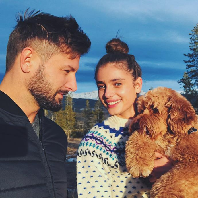 ***Michael Stephen Shank,*** boyfriend of Taylor Hill <br><br> Unafraid of showing their affection on social media, talent agent and actor Michael Stephen Shank has been with his stunning model girlfriend since 2015.
