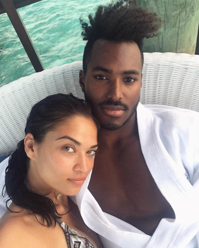 ***Gregory Andrews*** (AKA DJ Ruckus), husband of Shanina Shaik<br><br>These two love birds got married this April in the Bahamas.