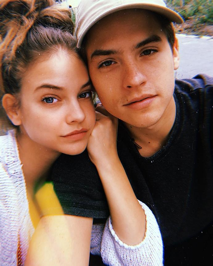 ***Dylan Sprouse***, boyfriend of Barbara Palvin<br><br>Although they just got together this year, these two are super cute.