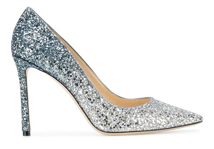 "**For The: Bride Who Needs Something Blue** <br><br>  Pumps by Jimmy Choo, $925 at [Farfetch](https://www.farfetch.com/au/shopping/women/jimmy-choo-romy-100-stiletto-pumps-item-12504292.aspx?storeid=9788 target=""_blank"" rel=""nofollow"")"
