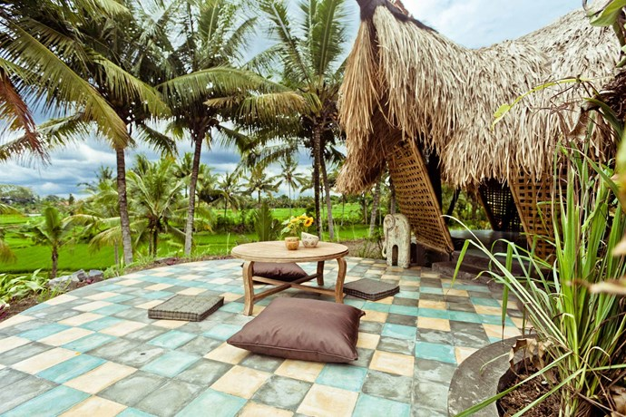 """**[""""BAMBOO ECO-COTTAGE IN RICE FIELDS""""](https://www.airbnb.com/rooms/744971