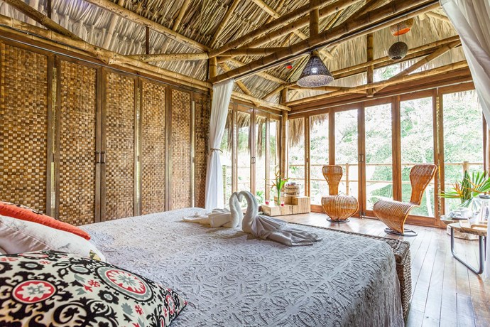 """**[""""ROMANTIC CABANA WITH A VIEW""""](https://www.airbnb.com/rooms/3993887