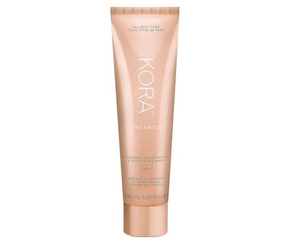 "**Mask by Kora Organics, $59.95 at [Adore Beauty](https://www.adorebeauty.com.au/kora-organics-by-miranda-kerr/kora-organics-turmeric-brightening-exfoliating-mask-2in1-100ml.html  |target=""_blank""