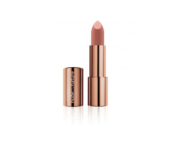 "**[Nude by Nature Moisture Shine Lipstick in Nude](https://nudebynature.com.au/collections/lips |target=""_blank""