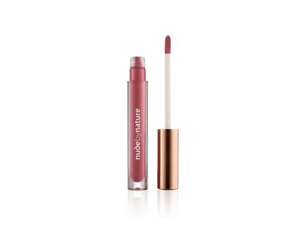 "**[Nude by Nature Moisture Infusion Lipgloss in Violet Pink](https://nudebynature.com.au/collections/lips |target=""_blank""