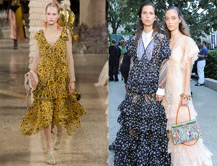 Ulla Johnson spring/summer '19, Tory Burch spring/summer '19