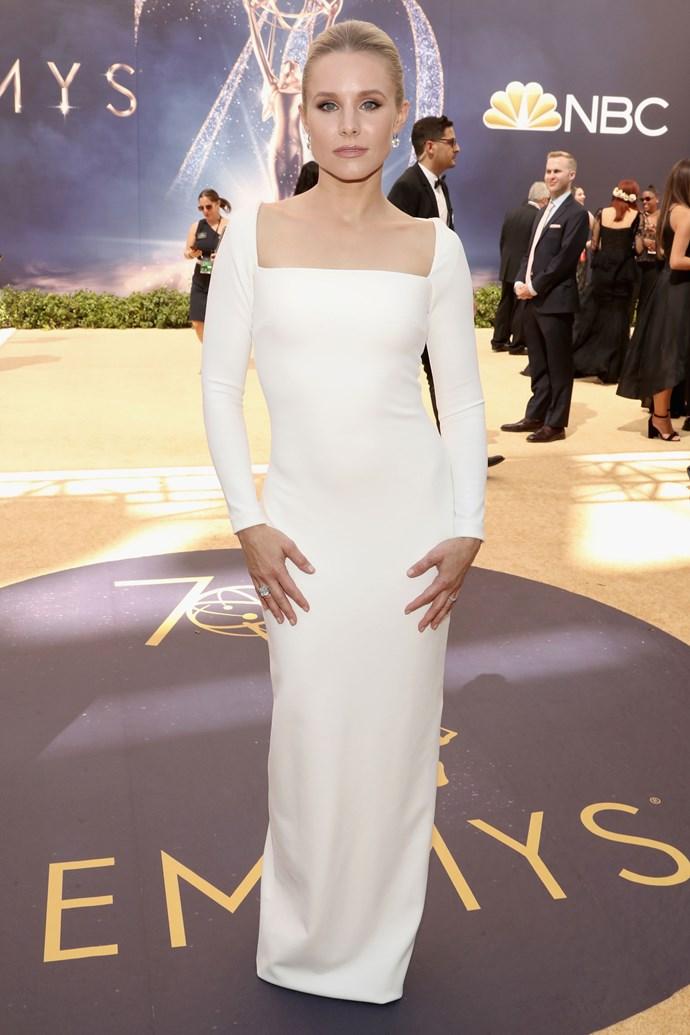 Kristen Bell in Solace London.