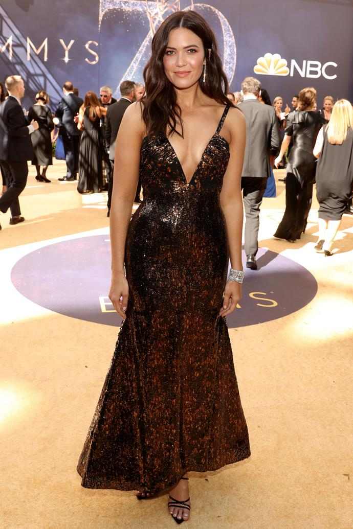 Mandy Moore in Rodarte.