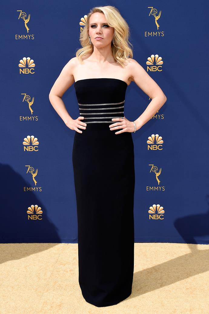 Kate McKinnon in Alexander Wang.