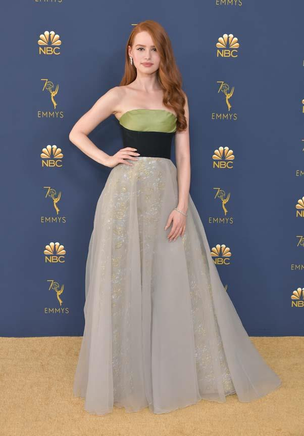 Madelaine Petsch in Prada.