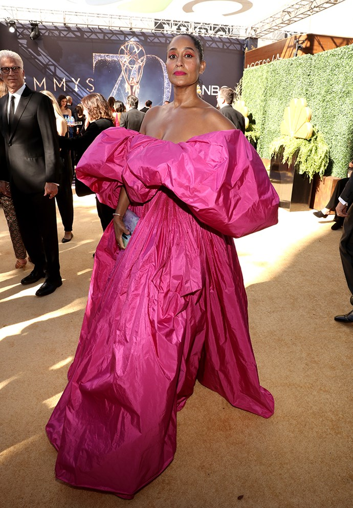 Tracee Ellis Ross in Valentino Couture.