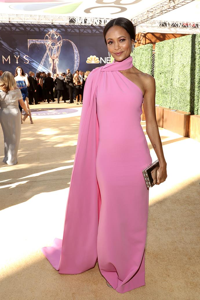 Thandie Newton in Brandon Maxwell.