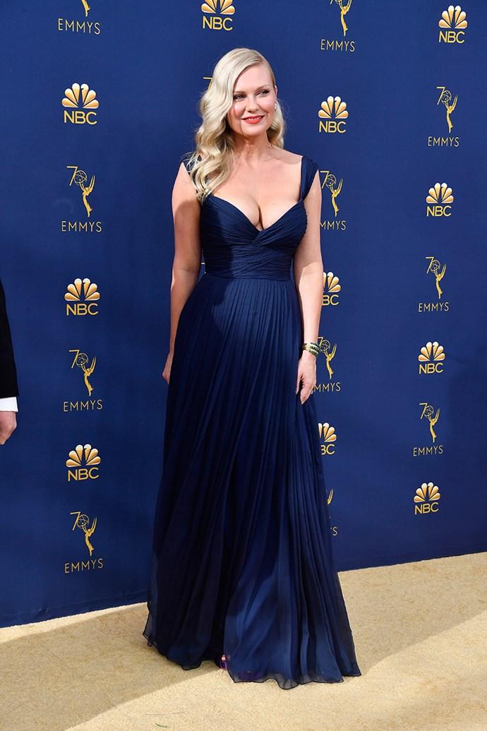 Kirsten Dunst in Schiaparelli Couture.